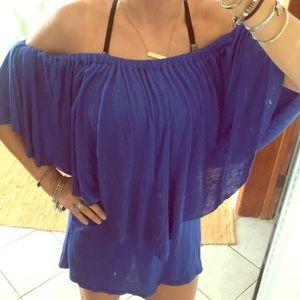 Off the shoulder top/dress